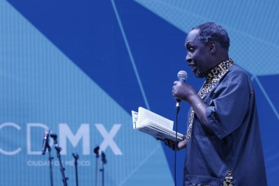 Acclaimed Kenyan Author Ngugi wa Thiong'o.