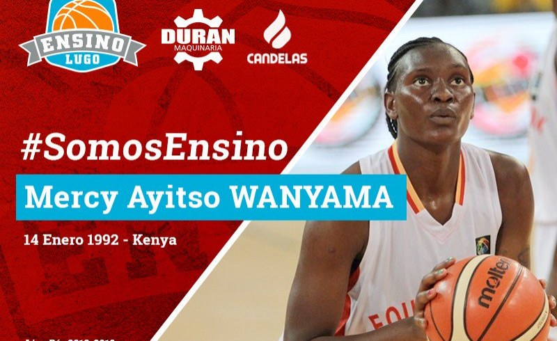 Kenyan Basketballer Wanyama Joins Spanish Basketball League