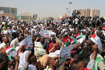 Manifestations à  Khartoum.
