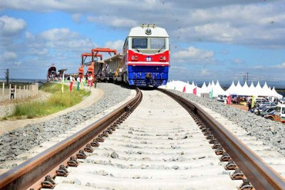 The standard gauge railway project.