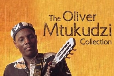 Oliver Mtukudzi Collection CD cover.