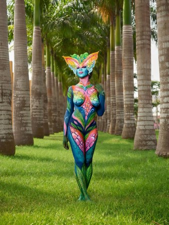 Photoessay Body Painting Artists Show Off Their Amazing Artistry In Equatorial Guinea Allafrica Com