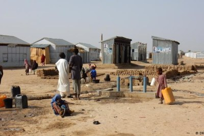 Many Nigerians in the northeast have fled Boko Haram attacks and now live in refugee camps (file photo).
