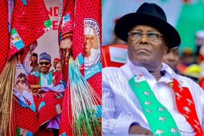 Atiku Abubakar vs Muhammadu Buhari.