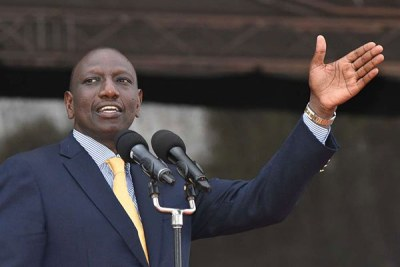 Deputy President William Ruto (file photo)