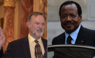 Govt Supporters Protests Against U.S. Criticism of Cameroon
