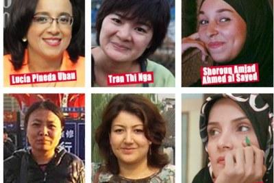 Journalistes femmes emprisonnées.