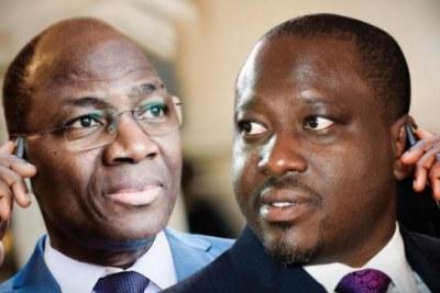 Echanges téléphoniques entre le général Djibrill Bassolet et des personnes, accusées ou pas, comme Guillaume Soro, Adama Ouédraogo dit Damiss et Fatoumata Thérèse Diawara.