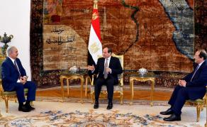 Rencontre entre le maréchal Haftar et le président égyptien Sissi