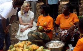 Ivanka Trump à la rencontre des femmes cultivatrices de Côte d'Ivoire