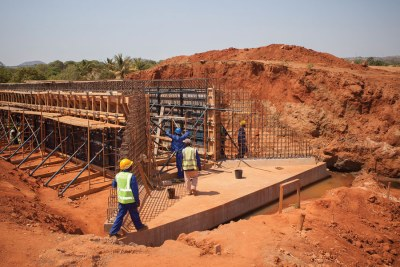 The BUILD Act could increase U.S. engagement in ventures like this road infrastructure project in Mozambique supported by the Millennium Challenge Corporation.