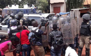 Uganda Police Arrest Bobi Wine, Fire Teargas at Supporters