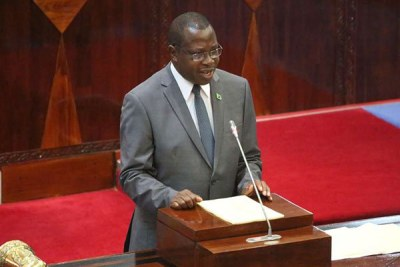 Finance and Planning Minister, Philip Mpango.