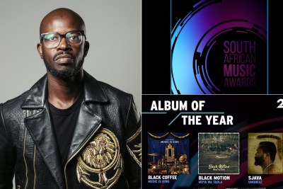 #SAMA25: Black Coffee leads with five nominations.