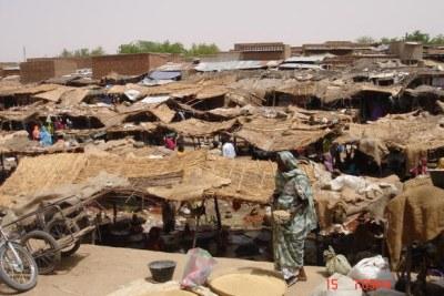 Marché Abéché au Tchad