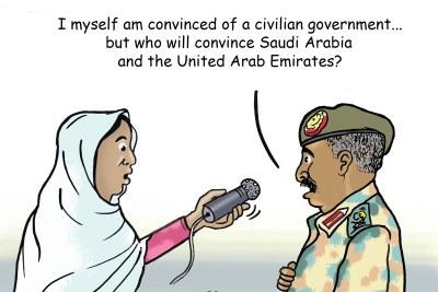 Sudanese professionals, military junta brief western diplomats