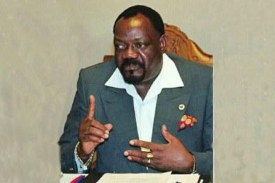 Jonas Savimbi, founding Unita leader.