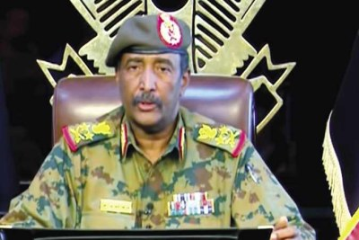 The Chairman of the Transitional Military Council (TMC), Lt. Gen. Abdul Fattah Al-Burhan