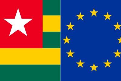 Drapeau Togo - Drapeau EU