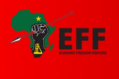 Economic Freedom Fighters logo (file photo).
