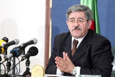 Ahmed Ouyahia, ancien PM algérien.