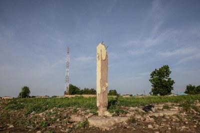 Des ruines à Maiduguri, une ville toujours en convalescence après dix ans de Boko Haram.