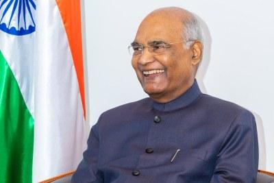 Président indien lors de sa visite au Bénin