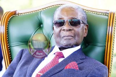 L'ancien président zimbabwéen Robert Mugabe.