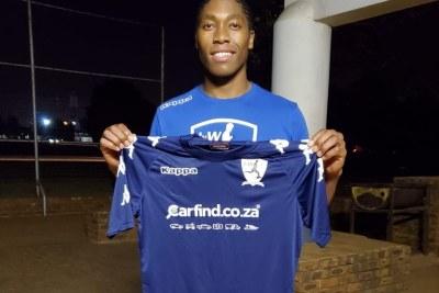 Caster Semenya joins soccer club.