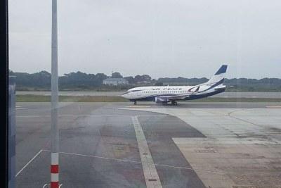Air Peace aeroplane (file photo).