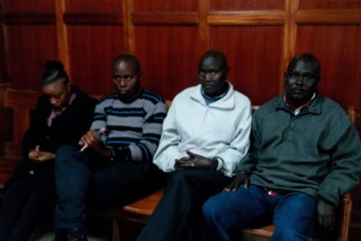 The four police officers facing murder (file photo).