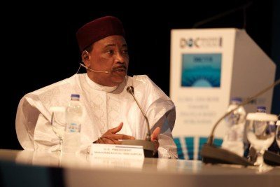 President of Niger Mahamadou Issoufou was a keynote speaker at the Dialogue of Civilizations' Rhodes Forum in Greece. He currently chairs the Economic Community of West African States (ECOWAS) and has played a major role in establishing the African Continental Free Trade Area. The Africa summit is now a key feature of the Rhodes Forum and demonstrates the DOC's contribution in the region. The Forum aims to address current debates around Africa's future as a pillar of the global order and driver of economic growth.