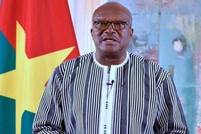 Le Président du Faso, Roch Marc Christian Kaboré