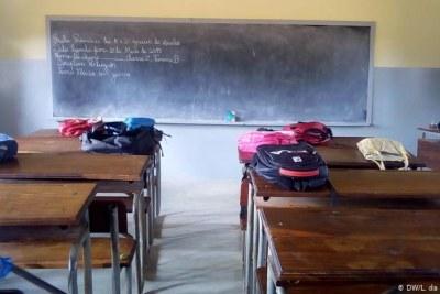 Illustration - Une salle de classe