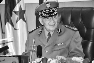 Le général de Corps d'Armée, Ahmed Gaïd Salah