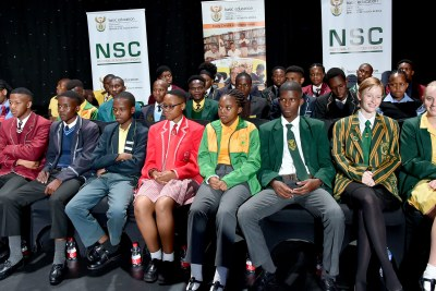 Basic Education Minister Angie Motshekga announces 2019 Matric Results and congratulates top achievers at Vodaworld in Midrand.