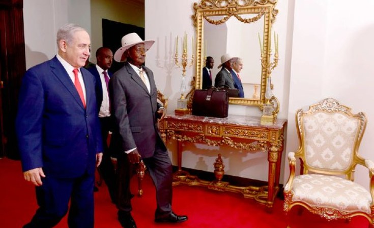 Netanyahu holds landmark meeting with Sudan leader
