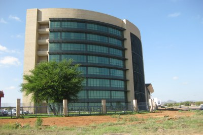 The SADC headquarters building in Gaborone (file photo).