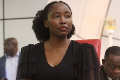 Emma Theofilus, Namibia's information, and technology deputy minister.