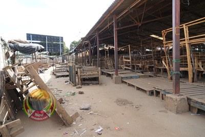 A deserted Mupedzanhamo Market in Mbare (file photo).