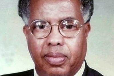 Former Somalia Prime Minister Nur Hassan Hussein, also known as Nur Adde in 2008.
