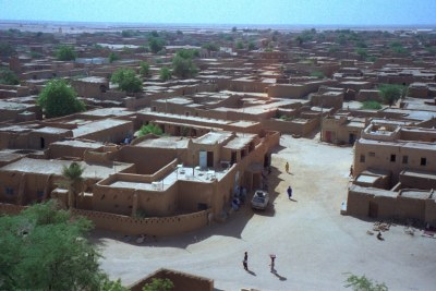 A view of Agadez in Niger (file photo).