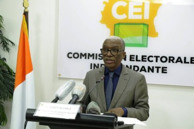 Emile Ebrottié spokesperson for the electoral commission (file photo).