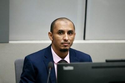 Al Hassan lors de sa première comparution devant la Cour pénale internationale le 4 avril 2018
