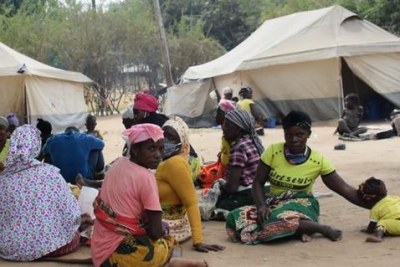 Violence in Cabo Delgado has forced hundreds of people to flee their homes.