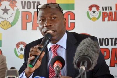 M. Dominguos Pereira, Président du Parti africain de l'indépendance de la Guinée et du Cap-Vert (PAIGC)