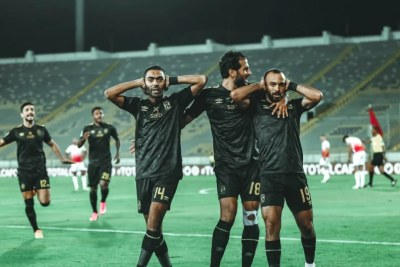 La demi-finale aller de la Ligue des Champions de la CAF Total 2019-2020 entre le Wydad Casablanca et Al Ahly