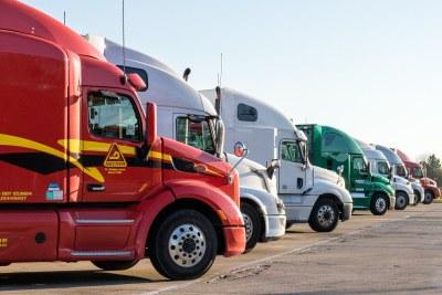 truck trucks trucking (file photo).