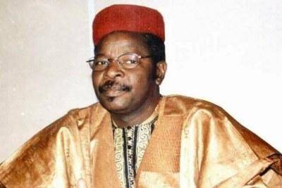 Mahamane Ousmane, candidat arrivé 2e derrière à la présidentielle 2021 au Niger