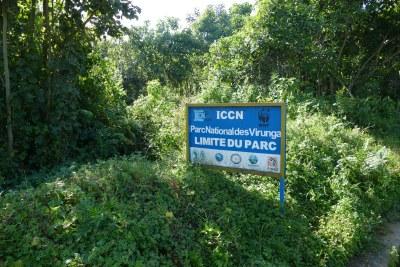 Le Parc National des Virunga à l'Est de la République Démocratique du Congo,
